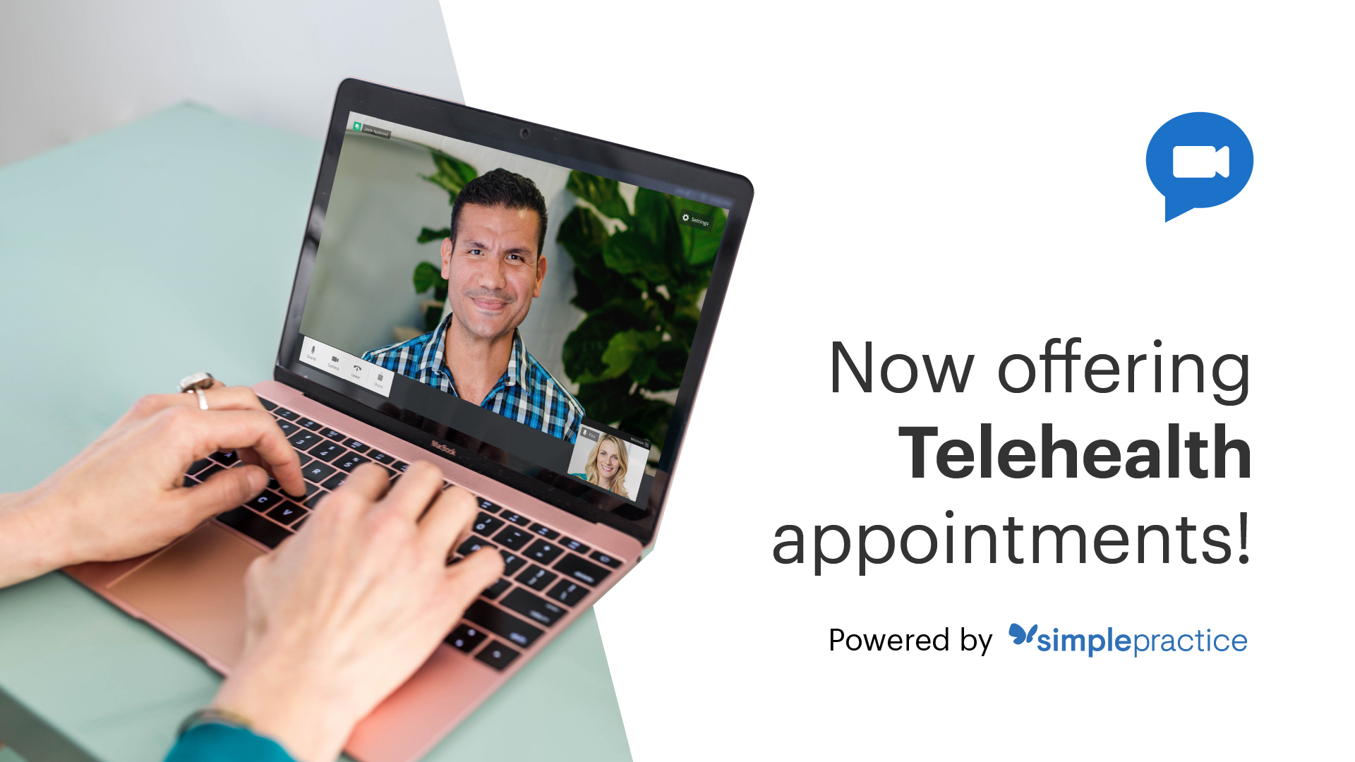 Now offering Telehealth appointments!